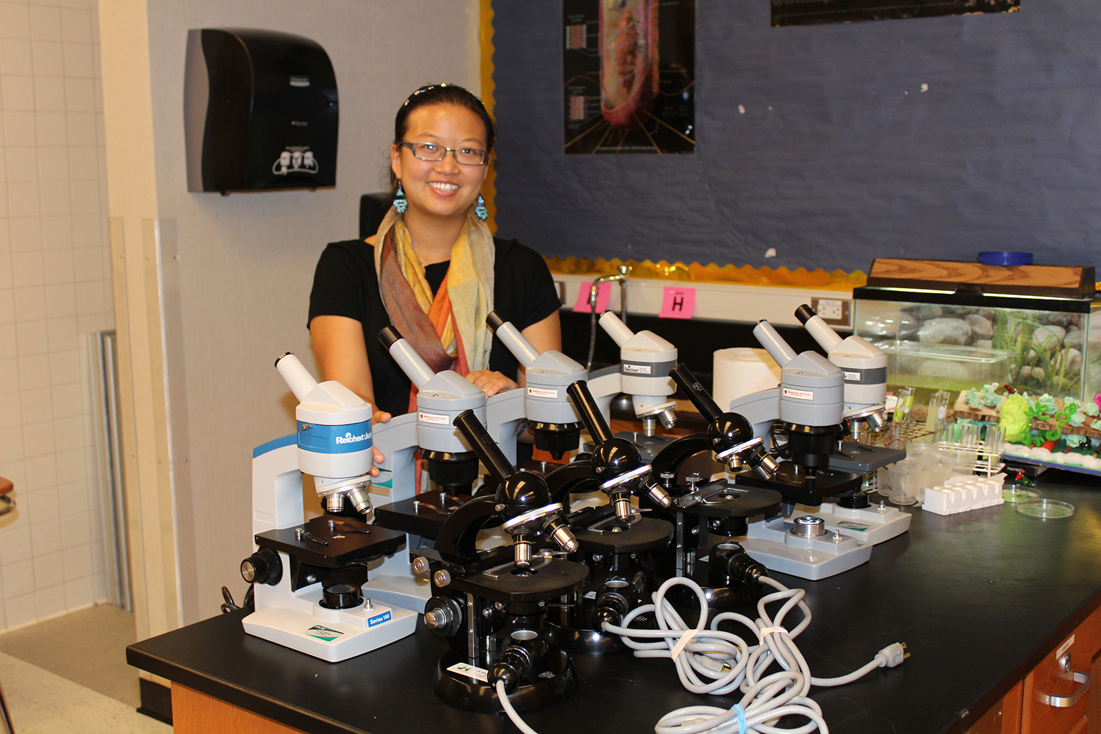 Donation to Biology Program at Dougherty Valley High School